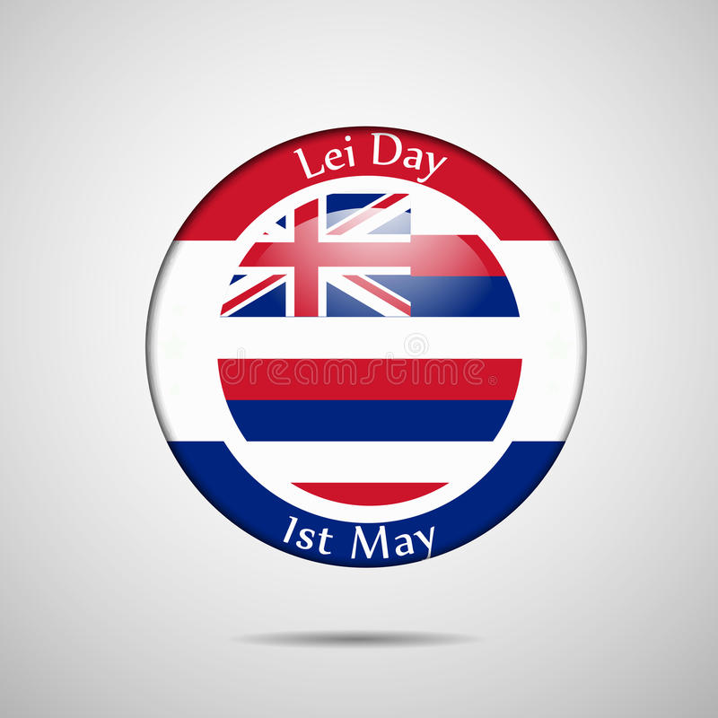 Lei Day-achtergrond royalty-vrije illustratie