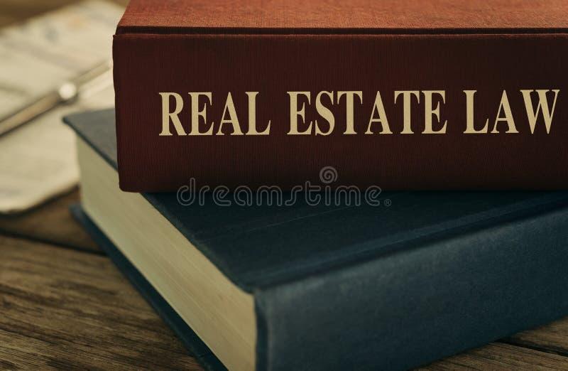 Lei dos bens imobiliários imagens de stock royalty free