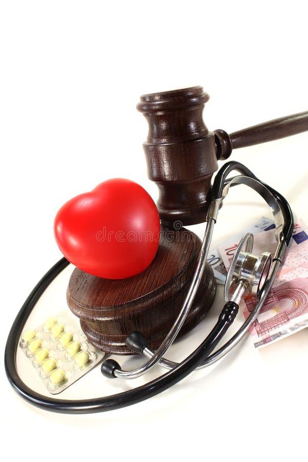 Lei médica imagens de stock
