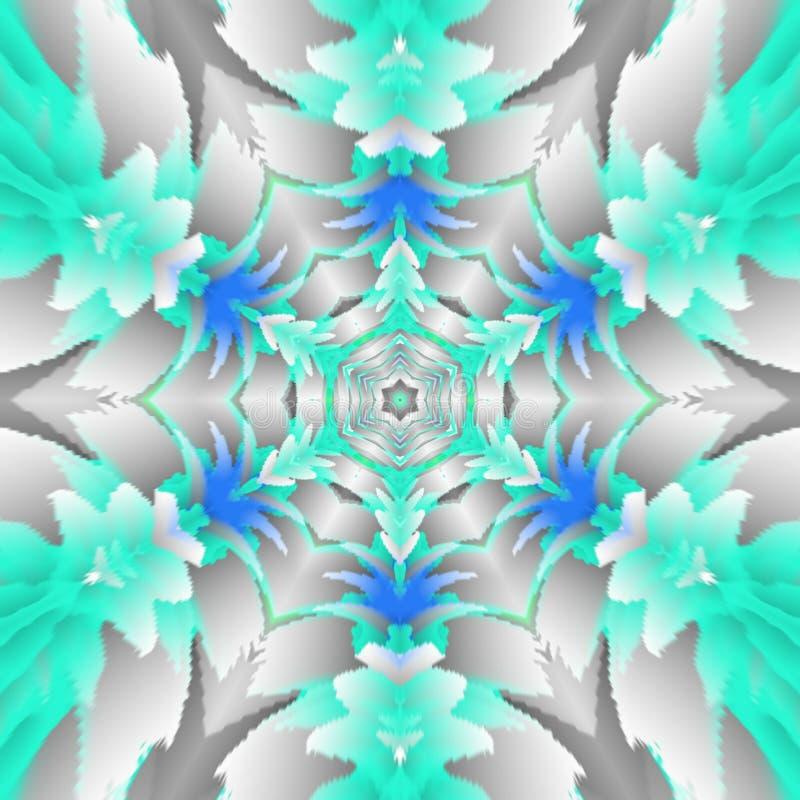 Lei Mandala illustrazione vettoriale