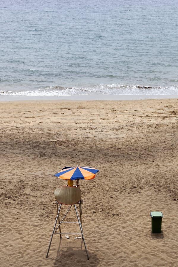 Leibwächter in Costa Teguise auf Lanzarote stockfotos