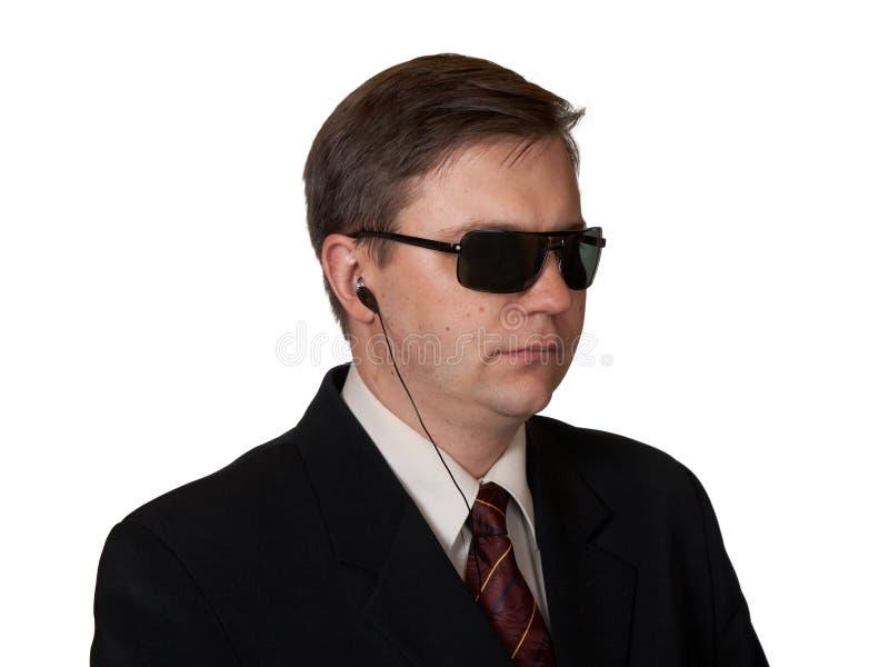 Leibwächter in den Sonnenbrillen lizenzfreie stockfotografie