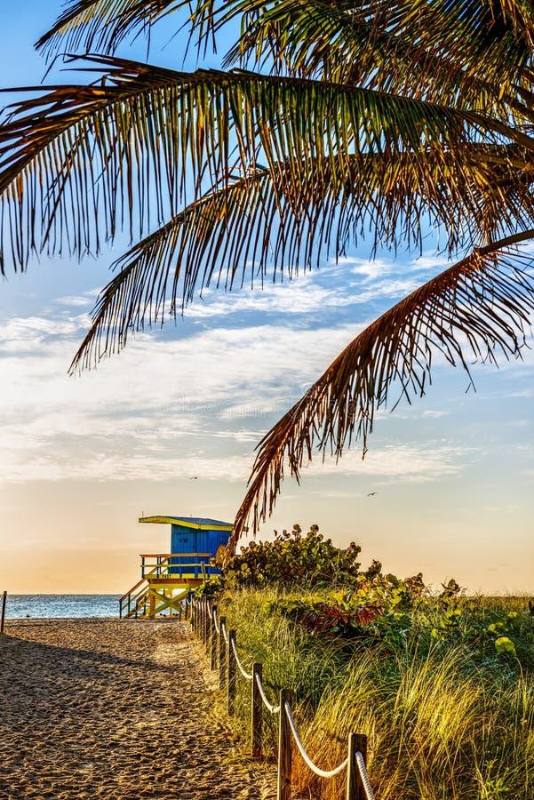 Leibwächter Tower, Miami Beach, Florida stockfotos