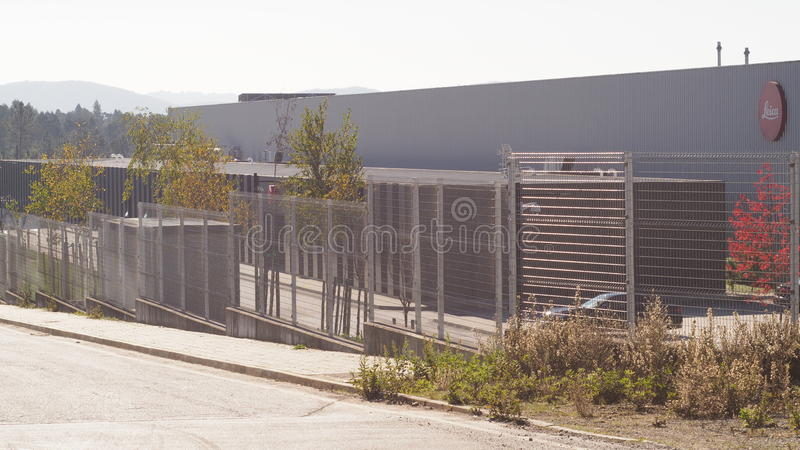 LEICA PORTUGAL FACTORY royalty free stock image