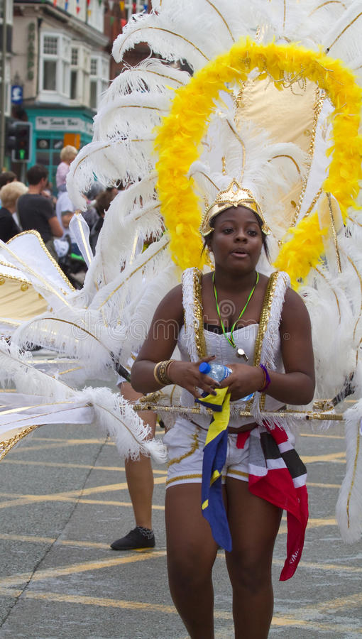Leicester Caribbean Carnival, UK 2010 stock images