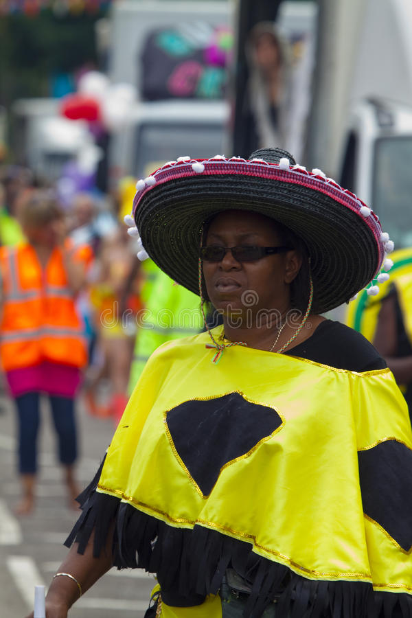 Leicester Caribbean Carnival, UK 2010 stock photography