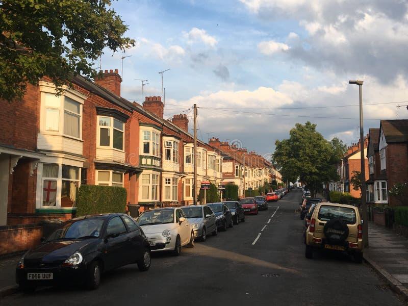 Leicester miasto zdjęcie stock