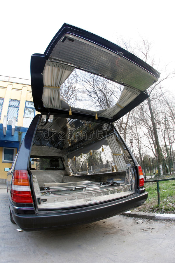 Leichenwagen lizenzfreies stockbild