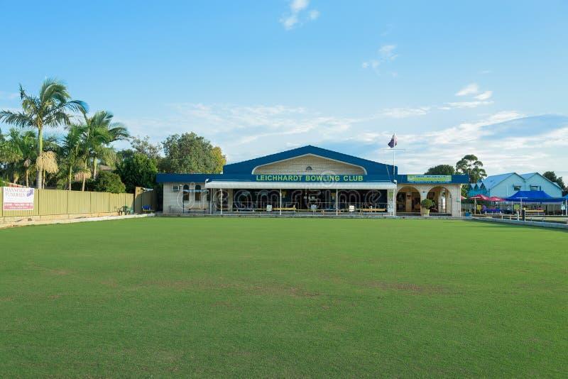 Leichhardt Bowling Club royalty free stock photo