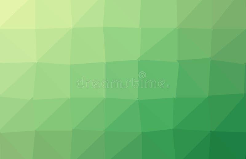 Leicht- grünen Sie - gelben abstrakten polygonalen Hintergrund Eine Probe mit polygonalen Formen Dreieckiges Muster f?r Ihr Gesch vektor abbildung
