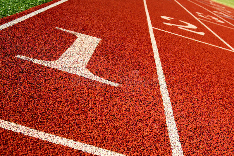 Leichtathletik lizenzfreie stockfotos