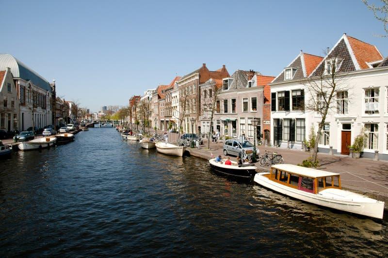 Leiden - die Niederlande stockbilder
