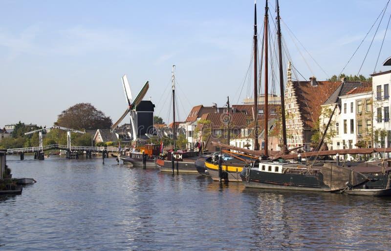 Leiden, Holland foto de stock