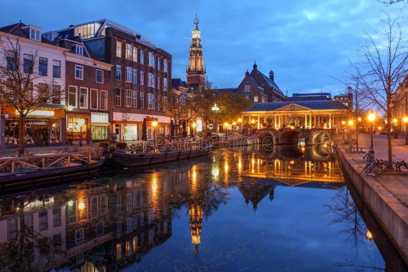 Leiden Nederländerna arkivbild