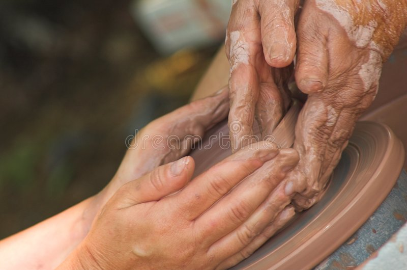 Leidende Handen stock afbeeldingen