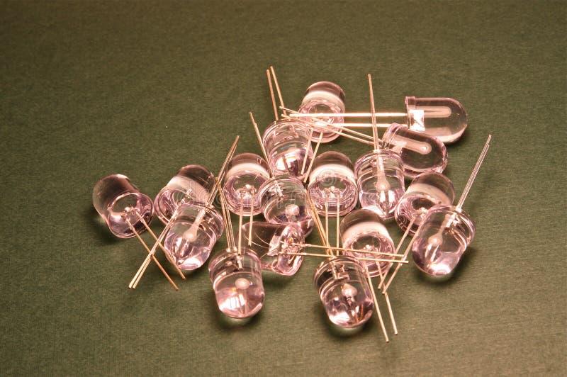 LEIDENE dioden royalty-vrije stock foto's