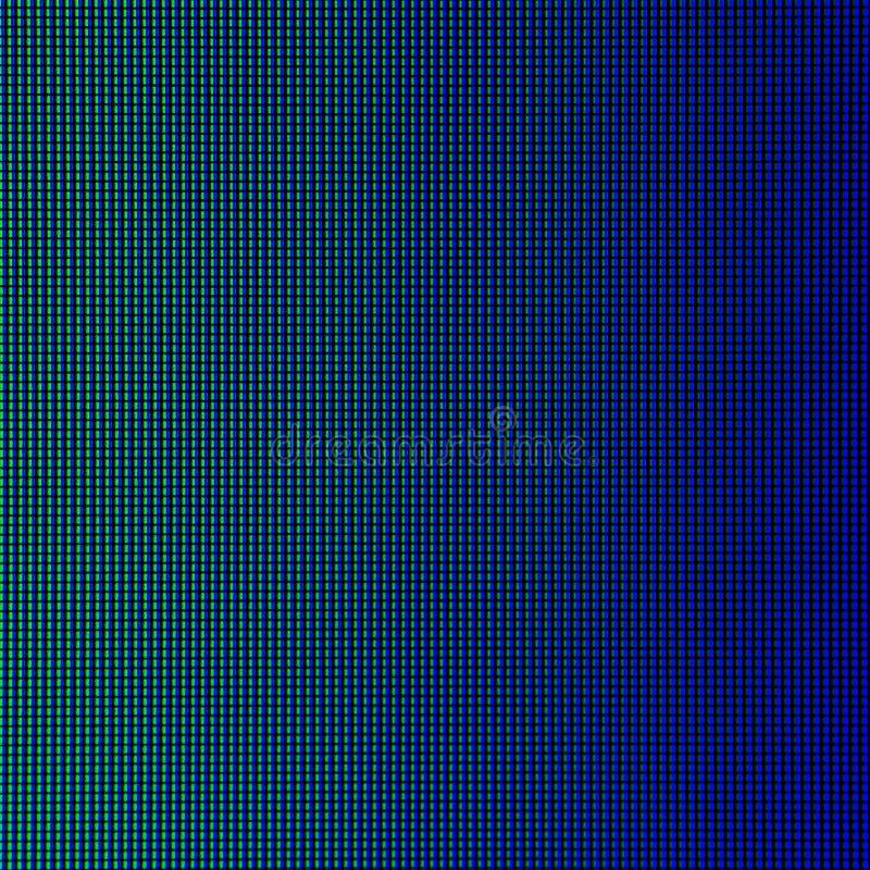 LEIDENE lichten van de vertoningspaneel computer van het HOOFDmonitorscherm voor grafisch websitemalplaatje elektriciteit of tech royalty-vrije stock afbeeldingen