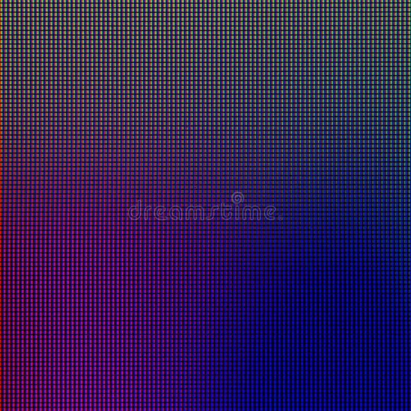 LEIDENE lichten van de vertoningspaneel computer van het HOOFDmonitorscherm voor grafisch websitemalplaatje elektriciteit of tech royalty-vrije stock afbeelding