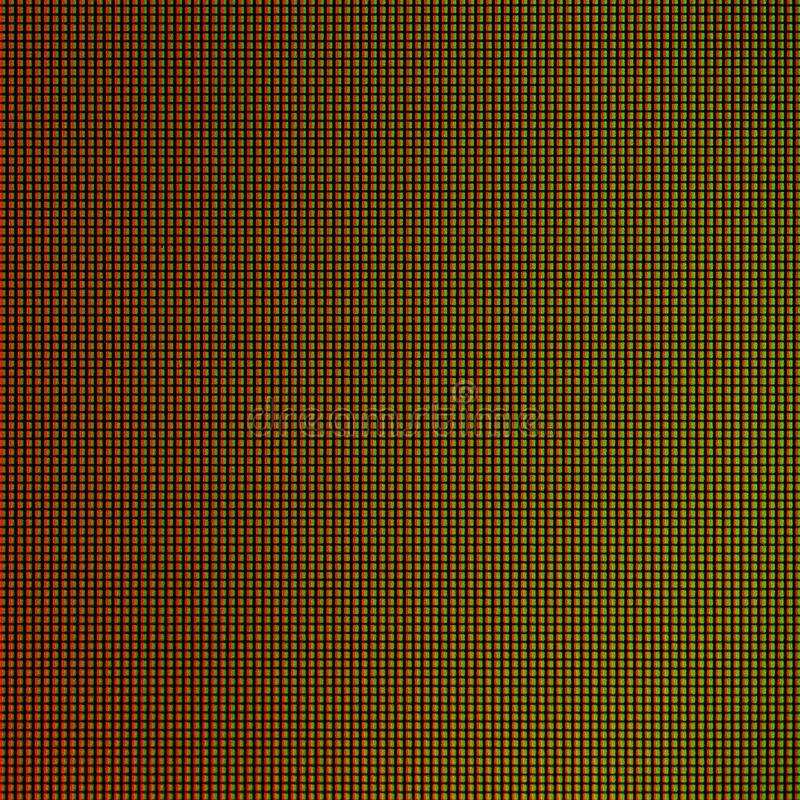 LEIDENE lichten van de vertoningspaneel computer van het HOOFDmonitorscherm voor grafisch websitemalplaatje elektriciteit of tech royalty-vrije stock foto