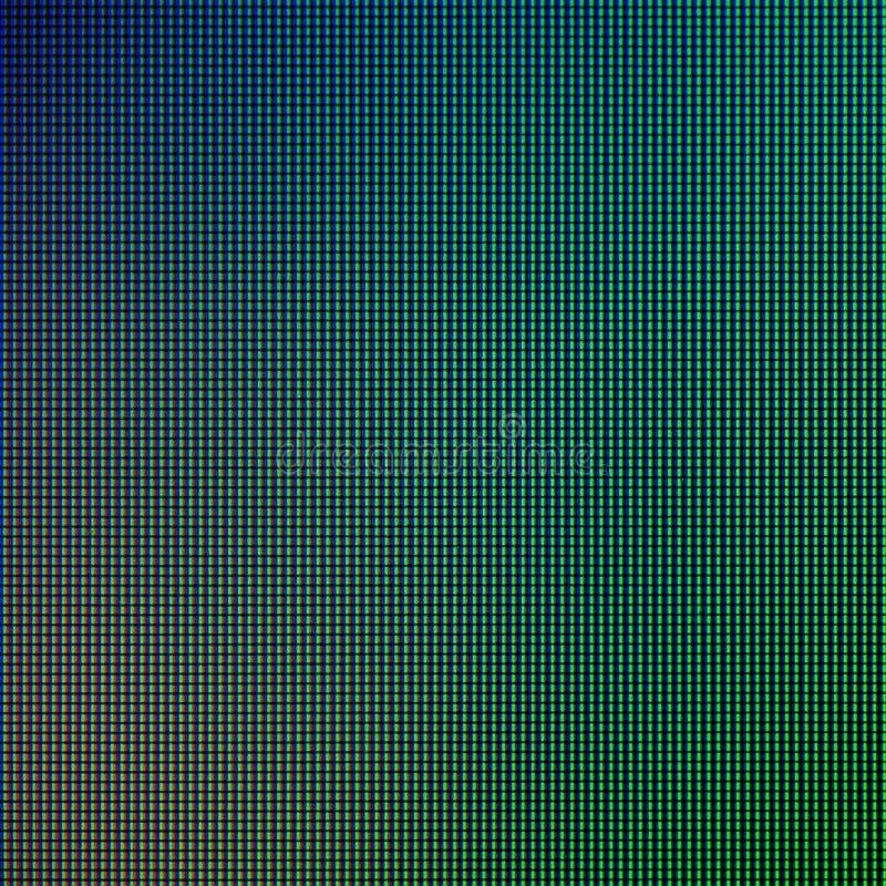 LEIDENE lichten van de vertoningspaneel computer van het HOOFDmonitorscherm voor grafisch websitemalplaatje elektriciteit of tech stock foto