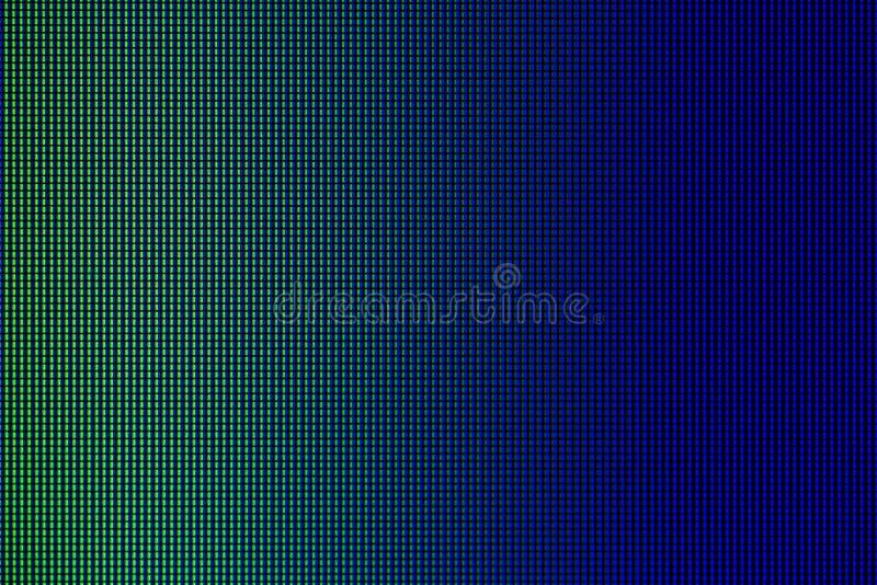LEIDENE lichten van de vertoningspaneel computer van het HOOFDmonitorscherm voor grafisch websitemalplaatje elektriciteit of tech royalty-vrije stock foto's
