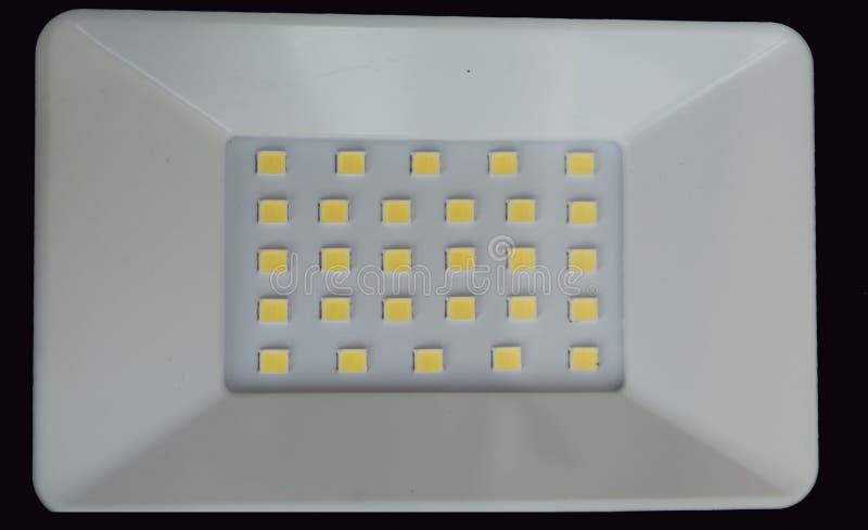 LEIDENE schijnwerper SMD LEDs stock fotografie