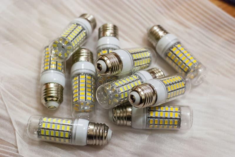 LEIDENE verlichtingslampen royalty-vrije stock fotografie