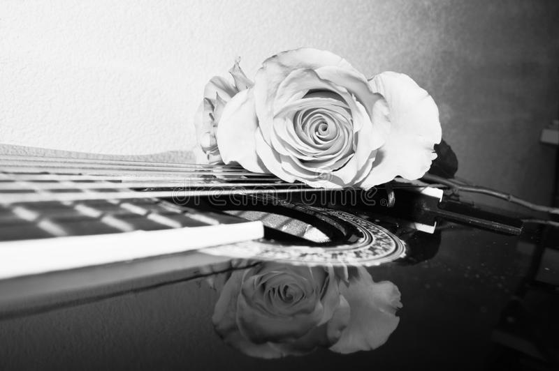 Leidenschaft und Ton, Nahaufnahme stockfotografie