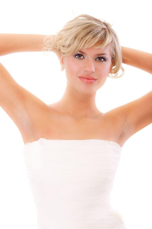 Leidenschaftlicher Schönheitsabschluß oben lizenzfreie stockfotos