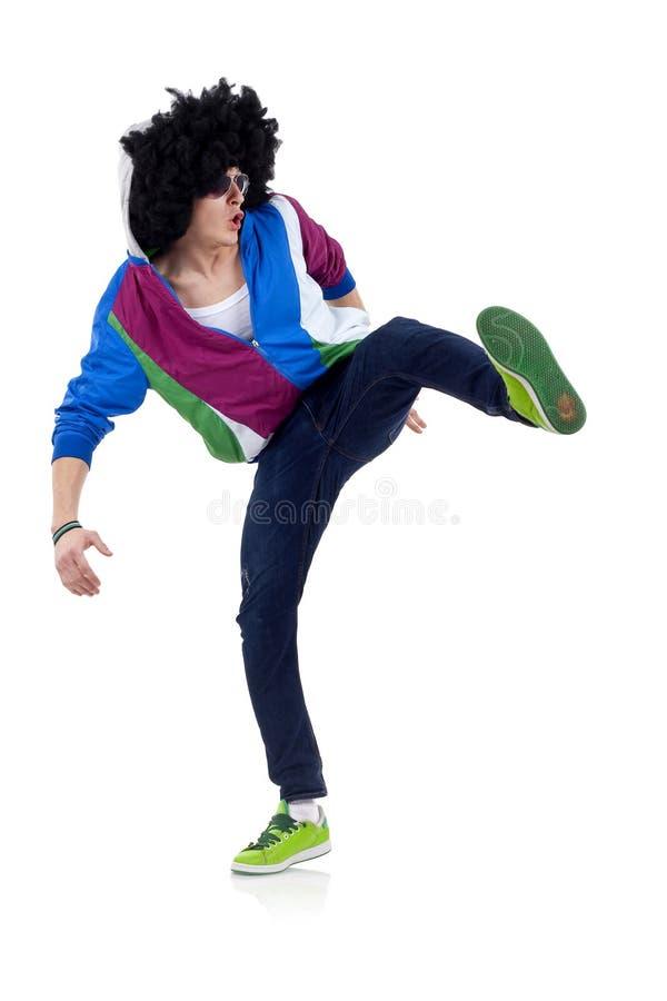 Leidenschaftlicher Tänzer stockbild