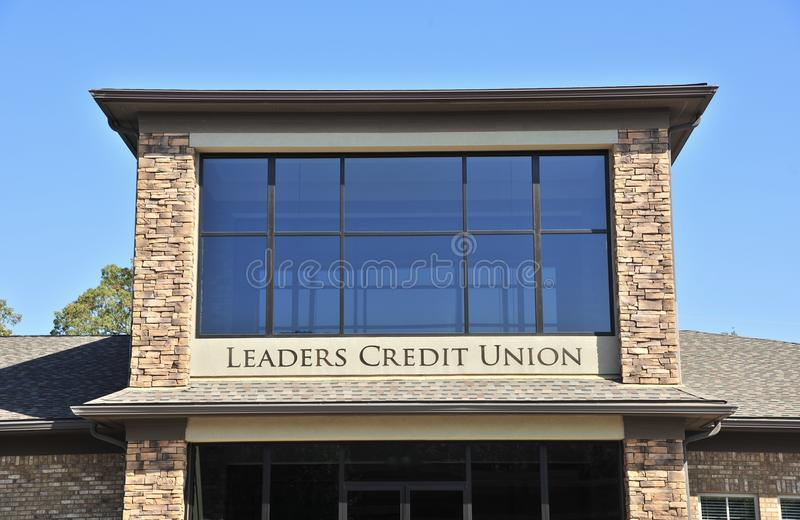 Leiders Credit Union Memphis, TN stock foto