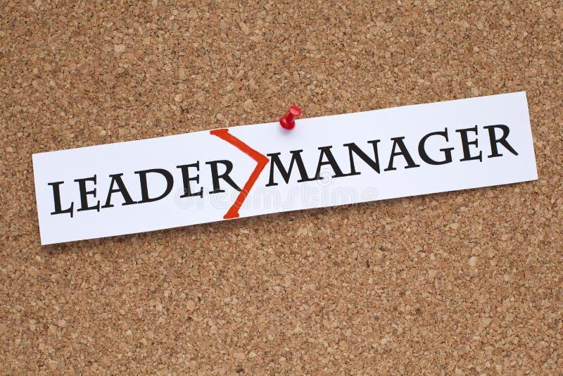 Leidersmanager stock fotografie