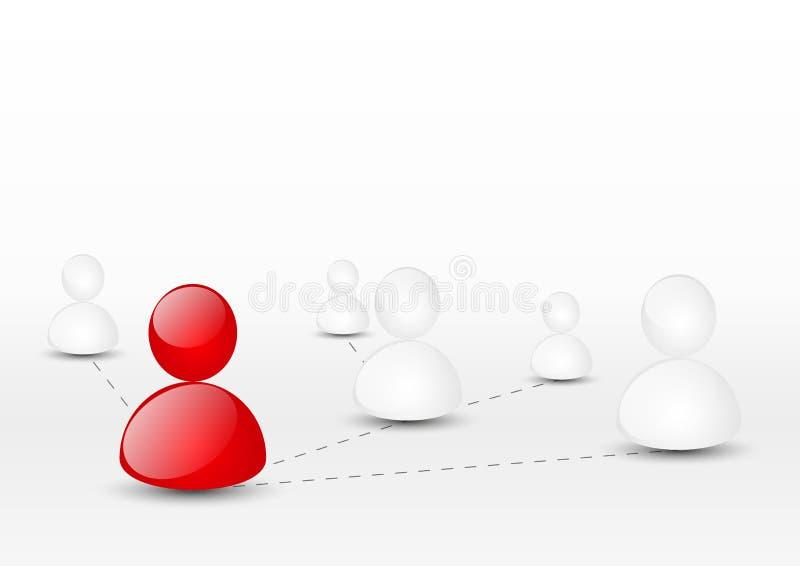 Leidingsconcept vector illustratie