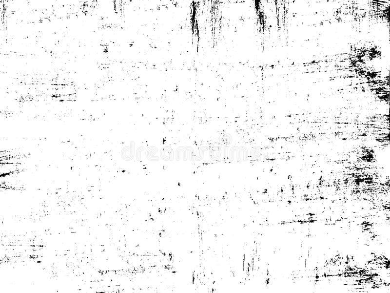 Leidt de kras grunge roestige achtergrond voor objecten grunge tot effect vector illustratie