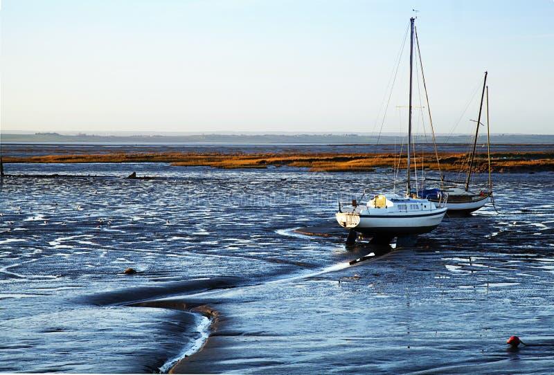 Leigh на море стоковые фотографии rf