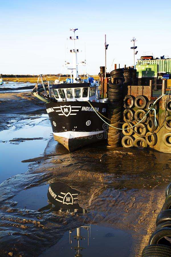 Leigh на море Morrings стоковое фото