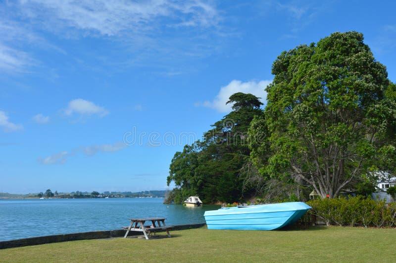 Leigh - Новая Зеландия стоковое фото