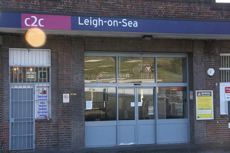 Leigh Station images stock