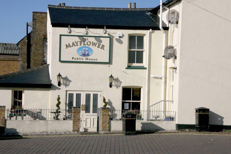 Leigh sul pub del mare immagini stock libere da diritti