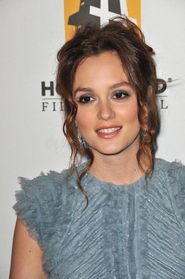 Download Leighton Meester Editorial Stock Image - Image: 26491129