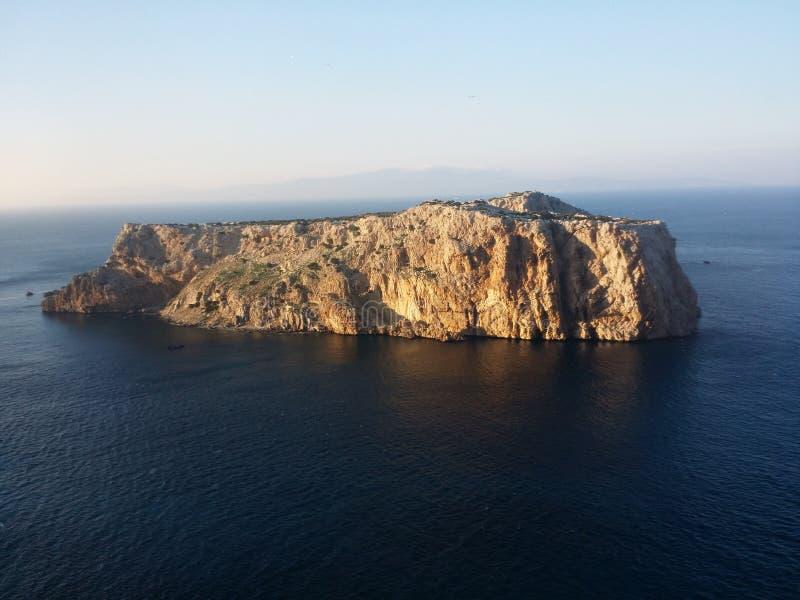 Leila îlot dell'isola del perejil di Isla fotografie stock libere da diritti