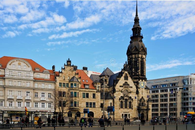 Leipzig Altstadt fotografia de stock