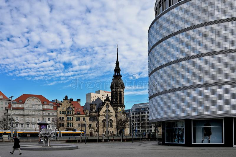 Leipzig Altstadt foto de stock royalty free