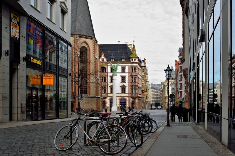 leipzig Altstadt fotografie stock
