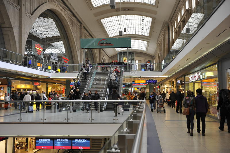 Download Leipzig Central Station, Germany Editorial Photo - Image: 25497811