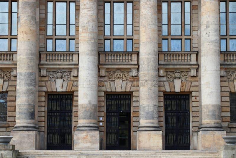 Leipzig Federacyjny Administracyjny sąd zdjęcie royalty free