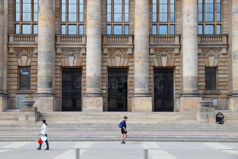 Leipzig gmach sądu obraz stock