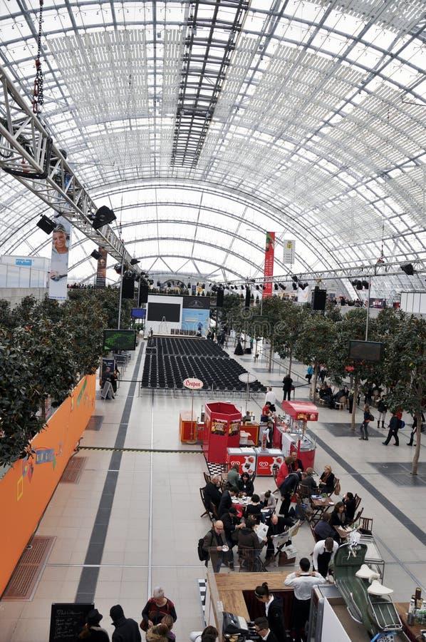 Jawny dzień dla Leipzig targi książki zdjęcia royalty free