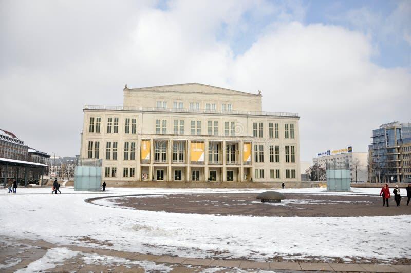 Leipzig opera obraz royalty free