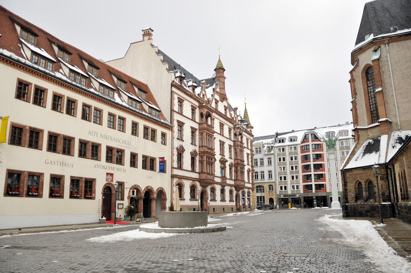 Nikolaikirche zdjęcia royalty free